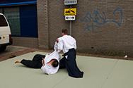 Aikido demonstratie - Melbuul'ndagen Borne