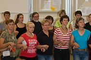 Doe Dans 2007 workshop Bretons Sibylle Helmer met orkest
