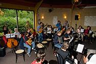Doe Dans 2007 workshop Muziek internationaal Wouter Verkerke