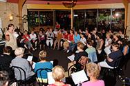 Doe Dans 2008 workshop Balkan zang Hedwig Schoots