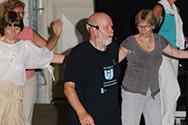 Doe Dans 2008 workshop Grieks Dik van der Zwan met orkest Trediki