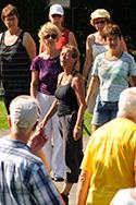 Doe Dans 2008 workshop Internationaal Mix 9 Mariette van Gelder en Judith Dekker